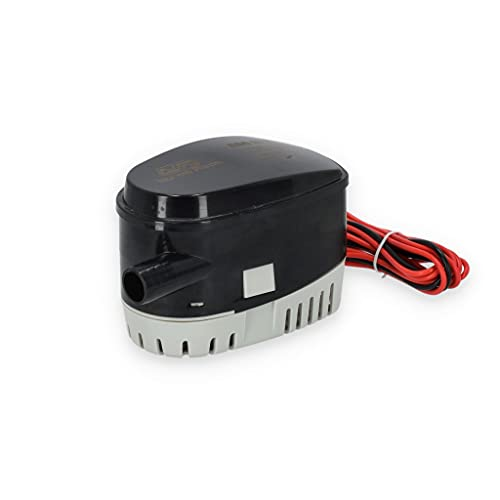 Automatische Bilgepumpe 12 oder 24 Volt / 2271 oder 3785 l/h Lenzpumpe Wasserpumpe Pumpe Boot Schiff Bilge Bilgenpumpe Größe 12 Volt / 3785 l/h