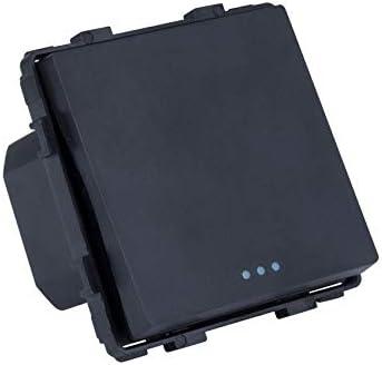 LEDKIA LIGHTING Interruptor Simple Conmutado Negro