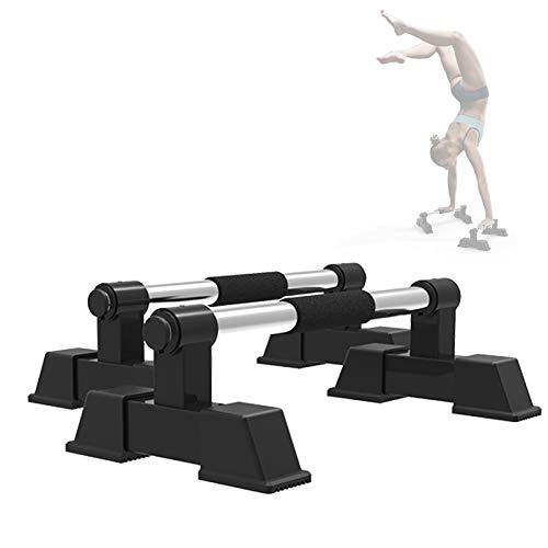 Grist CC Barras Paralelas Calistenia, Home Forma De H Barras De Empuje, Flexiones Parallettes De Fitness, Barras De Parada De Manos, Capacidad De Carga De 200 Kg