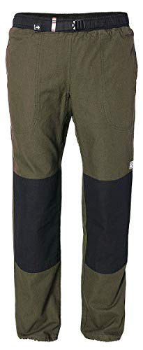 REJOICE Boulderhose Fat Moth Kletterhose für Damen und Herren – Outdoorhose für bewegungsfreies Bouldern, Klettern, Trekking, Wandern - U50/U02, Size L