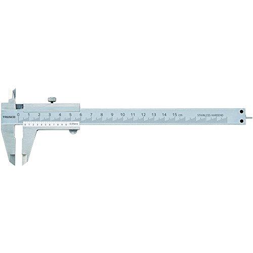 トラスコ TRUSCO ユニバーサルデザイン標準型ノギス 100mm THN-10-U 1本 415-3006