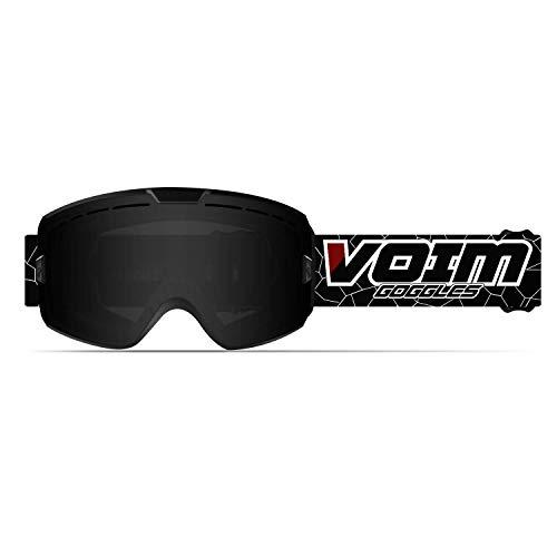 SGTTX Gafas de Esquí Dobles Lentes Desmontables Lentes Gafas de Snowboard Anti Niebla Protección UV400 OTG Gafas de Esquiar para Adulto Hombre Mujer