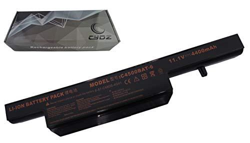 Laptop akku C4500BAT-6 6-87-C480S-4G4 6-87-E412S-4D7 6-87-W27PS-4P4 6-87-C480S-4G41 11.1V 4400mAh 48Wh für Clevo C4500 C4501 C4801 C4805 B410xM B512x B5130M B7110 E4105 E4107 C4100 C510x C550xx