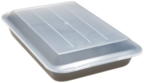 Good Cook 13 Inch x 9 Inch Covered Cake Pan