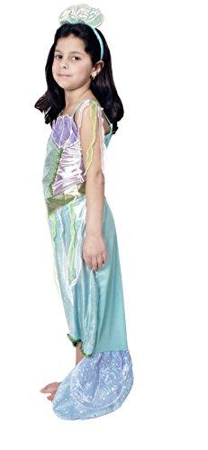 narrenkiste K31250382-98-104 Kinder Mehrjungfrau Kostüm Wassernixe Nixe Gr.98-104