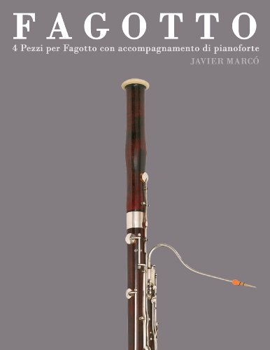 Fagotto: 4 Pezzi per Fagotto con accompagnamento di pianoforte