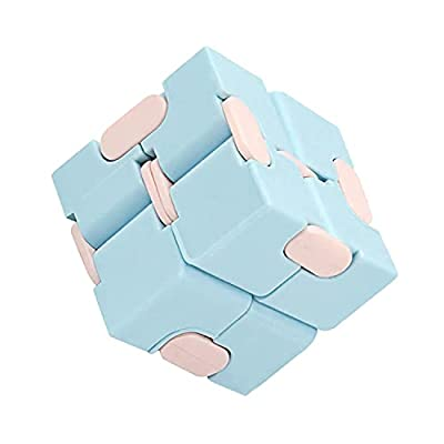 Infinity Cube Fidget Toy - Cubes Autism Toys - Mini Stress Anxiety Relief Blocks Office Desk Fidgets New Puzzle Box for Kids & Adults Transformers Stuff Cool Sensory Things Simple Gadget for Teens from KETAR