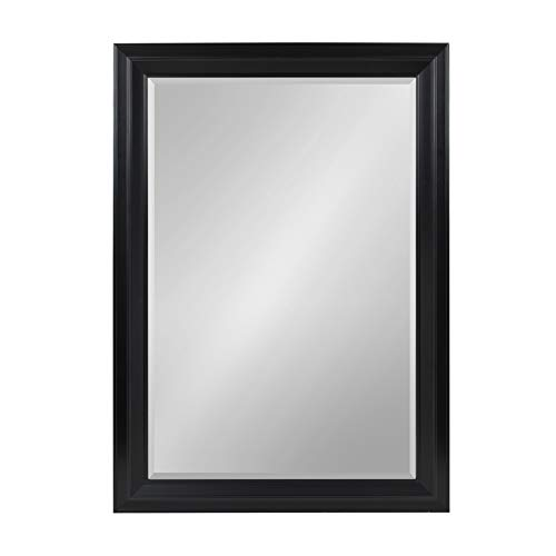 Kate and Laurel Whitley Classic Decorative Framed Beveled Wall Mirror, Large 29.5x41.5, -