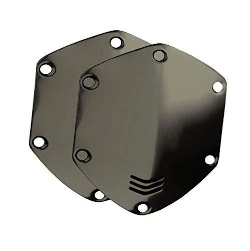 V-MODA Set di protezioni metalliche per cuffie Crossfade LP, LP2 e M-100 in metallo lucido, Canna di Fucile