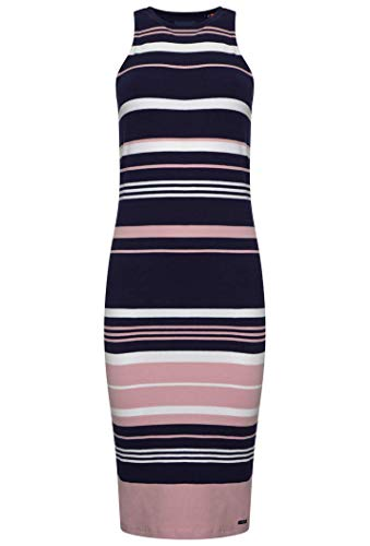 Superdry Verigated Stripe Midi Jurk Dames