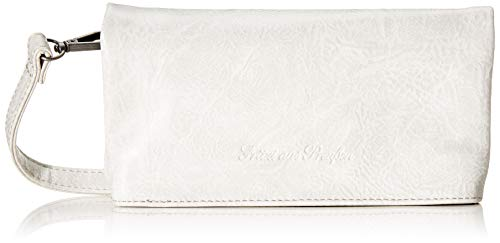 Fritzi aus Preussen Damen Ronja Small Clutch, Grau (Light Grey), 2.5x23x11.5 cm