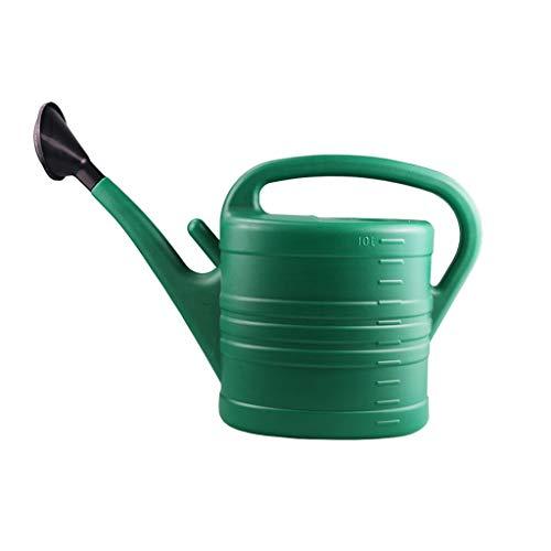 WGZ- Gieter tuinieren Watering Can Buiten Thuis Office Indoor Gieter Garden Potplant gieter Simpel (Color : Green, Size : 10L)