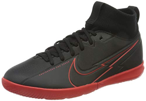 Nike Superfly 7 Academy IC, Scarpe per Calcetto a Cinque, Black Black Dk Smoke Grey, 35.5 EU