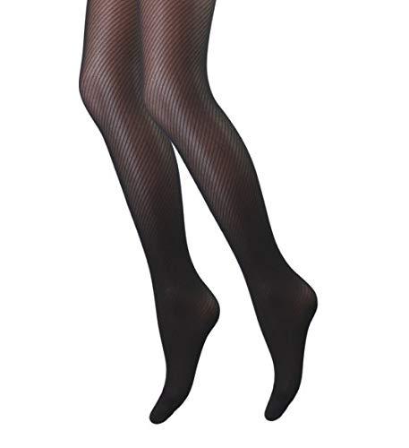 Panty - Visgraat - Zwart