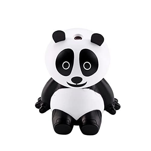diffusore oli essenziali forma animale Umidificatori USB Umidificatore d'Aria Animale Panda Forma Purificatore d'Aria Home Ufficio Umidificatore Essenziale Diffusore di Olio Elettrico Mist Maker (Color : White)