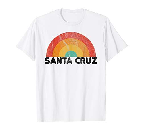 Retro Vintage Santa Cruz Kalifornien Surfer Hoodie Pullover T-Shirt