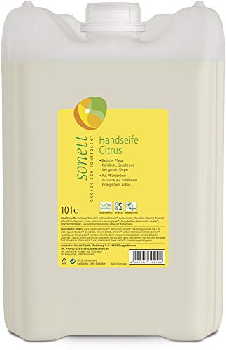 Sonett Bio Handseife Citrus (6 x 10 l)