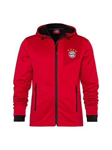 FC Bayern München Softshelljacke rot, L