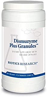 Biotics Research Dismuzyme Plus Granules™ –1200 mcg SOD, 1200 mcg Catalase, High Antioxidant Activity, Supports Immune System, Healthy Inflammatory Pathways. Contains: 17.9 Ounces (500 g)(62 servings)