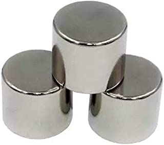 GMT 25X25mm Strong Ceramic/Ferrite Silver Magnets in Disc Shape for Photo Gallery, Arts & Crafts, Refrigerator Magnet, Hob...