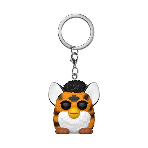 Funko- Pop Hasbro-Tiger Furby Keychain, Multicolor (52158)