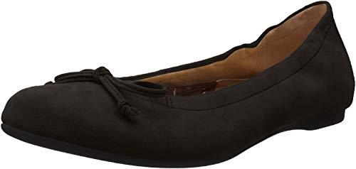 Gabor Shoes Damen Casual Geschlossene Ballerinas, Schwarz (Schwarz 17), 42 EU