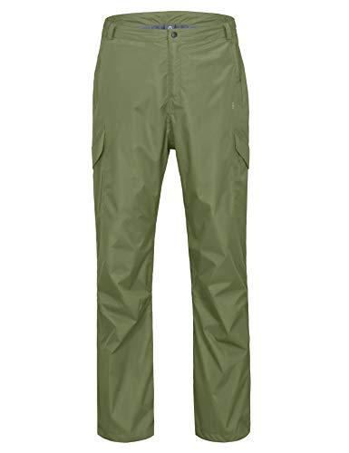 Little Donkey Andy wasserdichte Regenhose für Herren Atmungsaktive Golf-Wanderregenbekleidung Olive Large