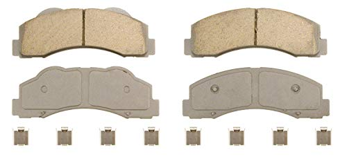 Wagner ThermoQuiet QC1414 Ceramic Disc Brake Pad Set