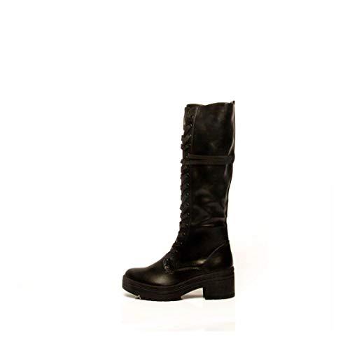 MARCO TOZZI Damen 2-2-25608-25 Langschaftstiefel Kniehohe Stiefel, Black Antic, 39 EU