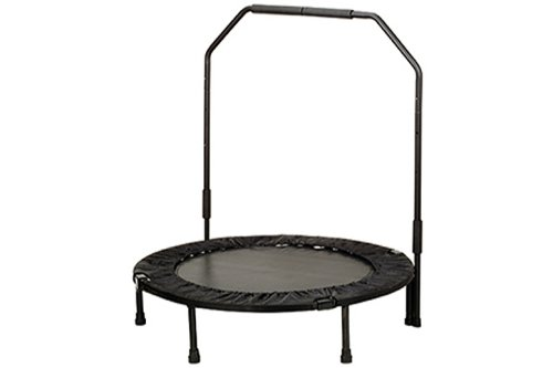 Sunny Health & Fitness 40' Foldable Trampoline with Bar
