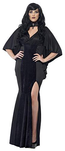 Smiffys, Damen Vamp Kostüm, Kleid, Größe: X1, 44338