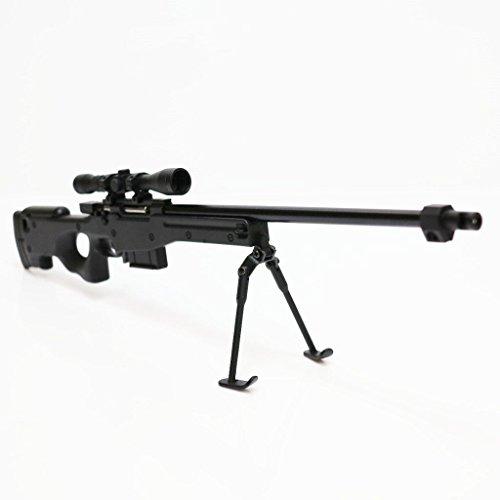 Airsoft Website Army Force Nicht-Funktions-Spielzeug-Abbildung Dummy-Modell-Installationssatz 1: 6 L96 Schwarzes