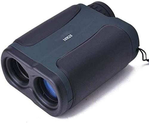 Zijie-bh Equipos teleobjetivo 700 Yardas Golf Caza telémetro - 10X25 Gama láser de Mano Buscador Monocularssss Telescopio