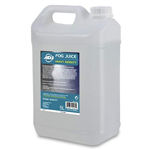 ADJ - Liquido generatore di fumo, densità elevata, 5 l