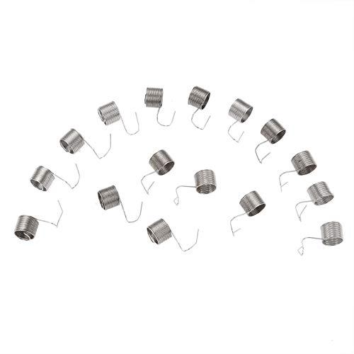 JINchao-Resorte de compresión, 20pcs de coser industrial Máquinas Tensión del hilo Compruebe Springs, for solo aguja máquina de coser 10.5 * 8.5mm Herramientas de costura de accesorios ,No se deforma