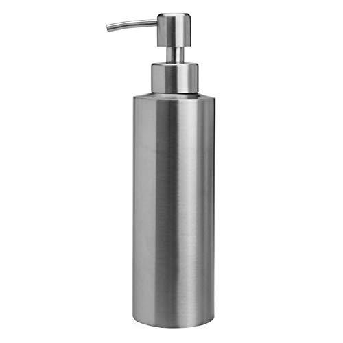 YWSZY Gel a Prueba de Fugas del jabón líquido Champú de Bombas for recipientes de baño desinfectante de la Mano Loción Botella de Acero Inoxidable Ducha Cocina Dispensadores de loción y de Jabón