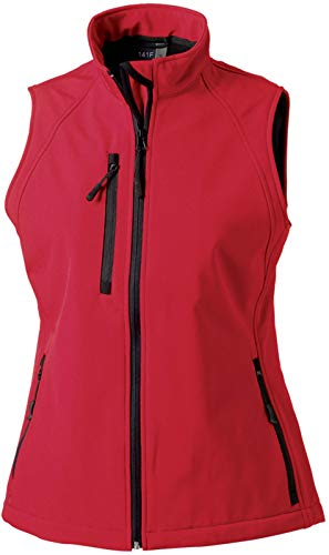 Russell Collection Softshell-Weste R-141F-0 XXL,Classic Red