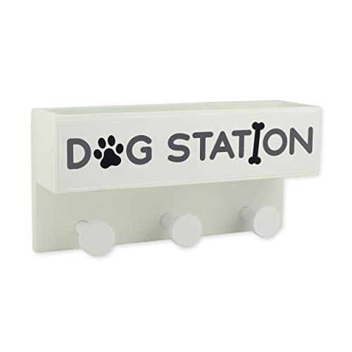 luvthings - Garderobe Dogstation Weiss, MDF - Breite: 30cm