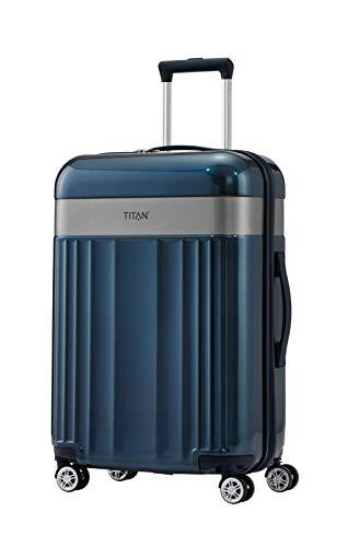 "TITAN Gepäckserie ""Spotlight Flash"": Edle TITAN®-Trolleys und Beautycases in knallbunten Trendfarben Koffer, 67 cm, 69 Liter, North Sea"
