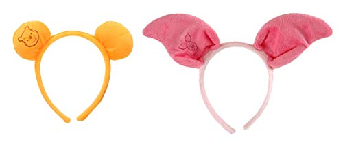 elope Disney Winnie The Pooh Piglet and Pooh Headband Bundle Yellow
