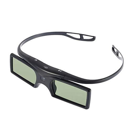 MXECO 1pc Bluetooth 3D Shutter Gafas activas para Samsung/para Panasonic para Sony 3DTVs Universal TV Gafas 3D YAHALOU