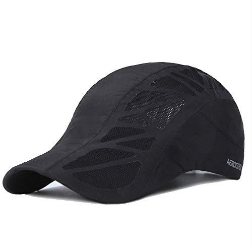 Clape Golf Cap UPF50+ Running Visor Cap Quick Dry Mesh Baseball Hat Unisex Classic Plain Unstructured Dad Hat
