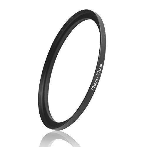 Ares Foto® Step Up Filteradapter Adapter Ring. CNC-gefrästes Aluminium. Kompatibel mit Objektiven Aller Hersteller: Canon Sony Nikon Fujifilm Olympus Pentax Leica Tamron Sigma (72mm – 77mm)