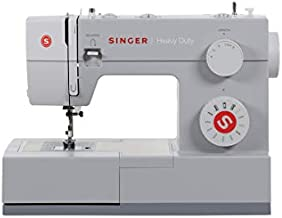 SINGER Heavy Duty 4411 11 Built-in Stitches, Metal Frame and Stainless Steel Bedplate, Fabrics Sewing Machine, Medium