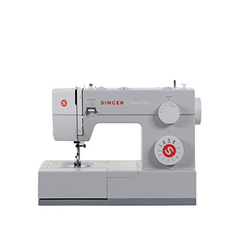 SINGER Heavy Duty Automatic sewing machine Eléctrico - Máquina de coser (Eléctrico, El pie para ojales, Protectora, Automatic sewing machine, Costura, Paso 4, Variable)