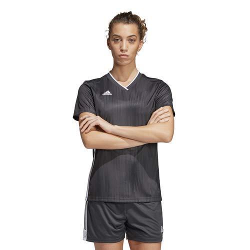 adidas Tiro 19 Jersey- Women's Soccer S Dark Grey/White