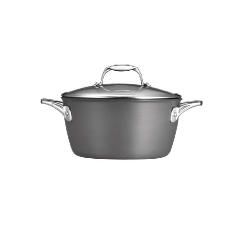Tramontina 80123/042DS Gourmet Heavy-Gauge Aluminum Nonstick Covered Dutch Oven, 5-Quart, Hard Anodized