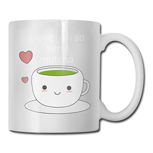 Taza de café divertida Té de Matcha divertido Taza de té de café Festival único Regalo de cumpleaños para hombres Mujeres