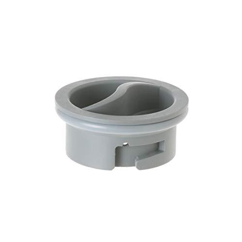 GE WD12X10122 Genuine OEM Rinse Aid Dispenser Cap (Gray) for GE Dishwashers