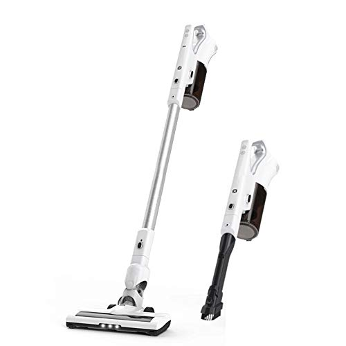 AMYMGLL Handheld Vacuum Cleaner, Lightweight Design, HEPA Filtration, Extendable Handle, Crevice Tool and Brush Accessories,Multiple Cleaning Modes Best for Pet Hairs Floor Carpet